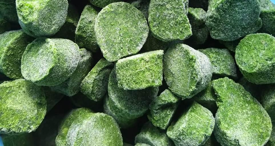 Овощи Шпинат резанный